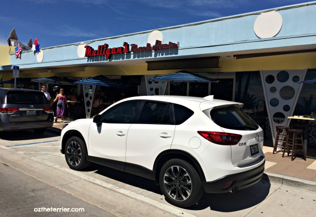 2016 Mazda CX-5 outside Mulligan's in Lauderdale-By-The-Sea