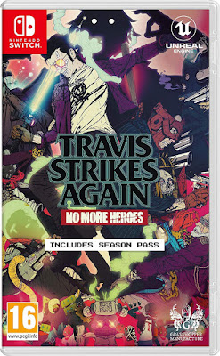 Travis Strikes Again No More Heroes Game Cover Nintendo Switch