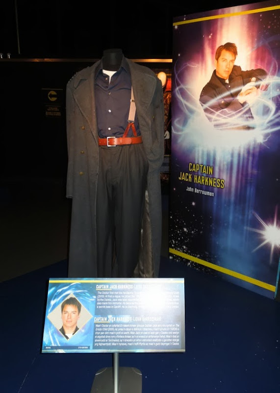 John Barrowman Captain Jack Harkness Doctor Who costume