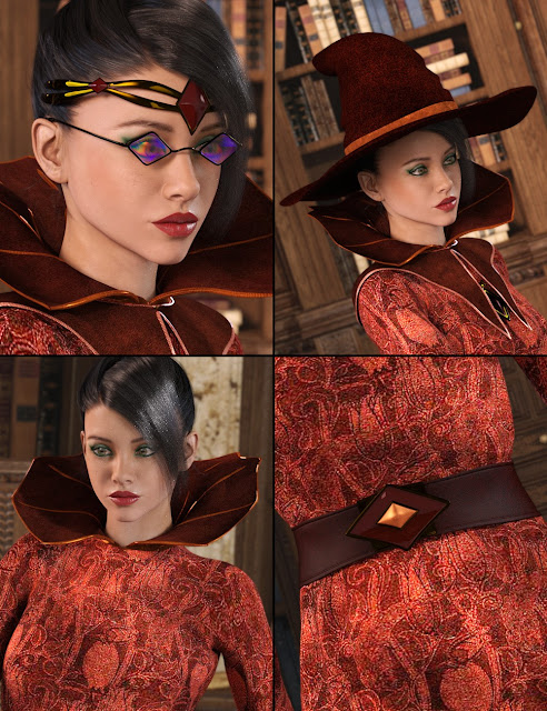 Sorceress for Genesis 3 Female