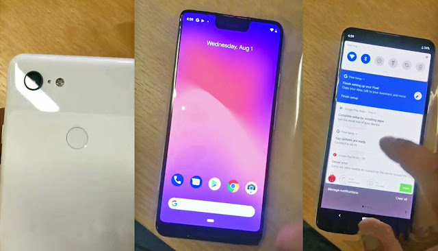 Pixel 3 XL Leaks Again, Shows Android 9.0 Pie Upcoming Feature!!!