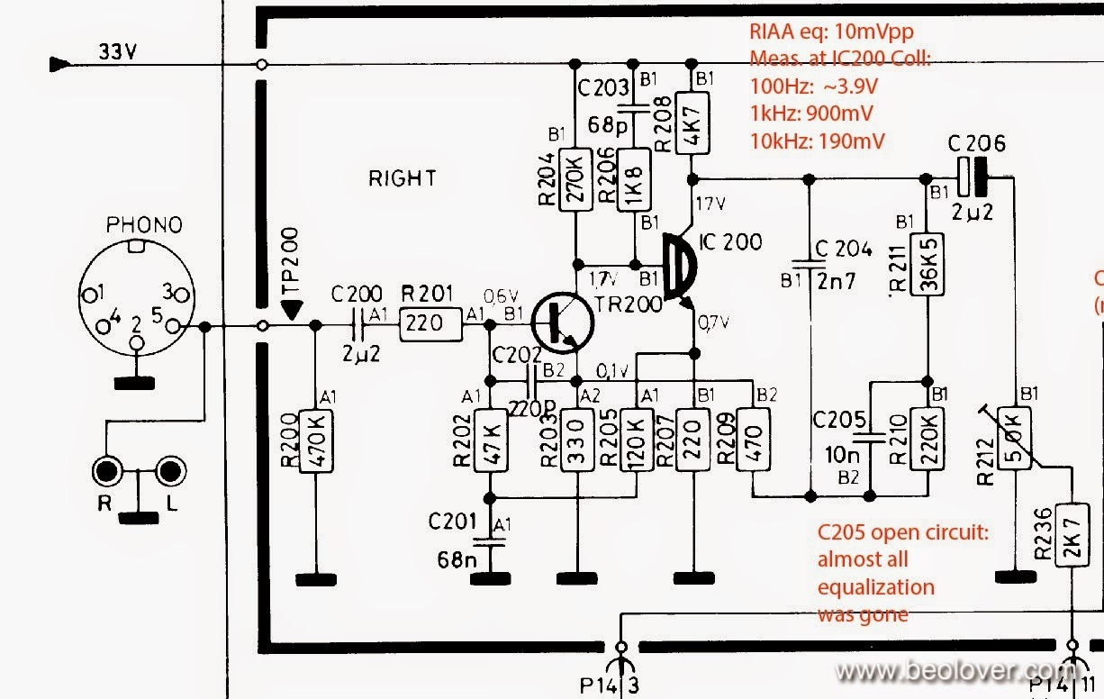 preamplifier with riaa equalization circuit diagram tradeoficcom