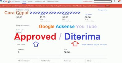 Cara Mendaftar Google Adsense dari Blogger Secara Cepat dan Tepat