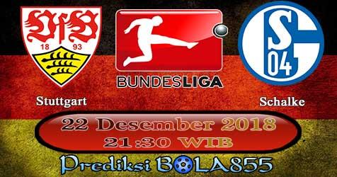 Prediksi Bola855 Stuttgart vs Schalke 22 Desember 2018