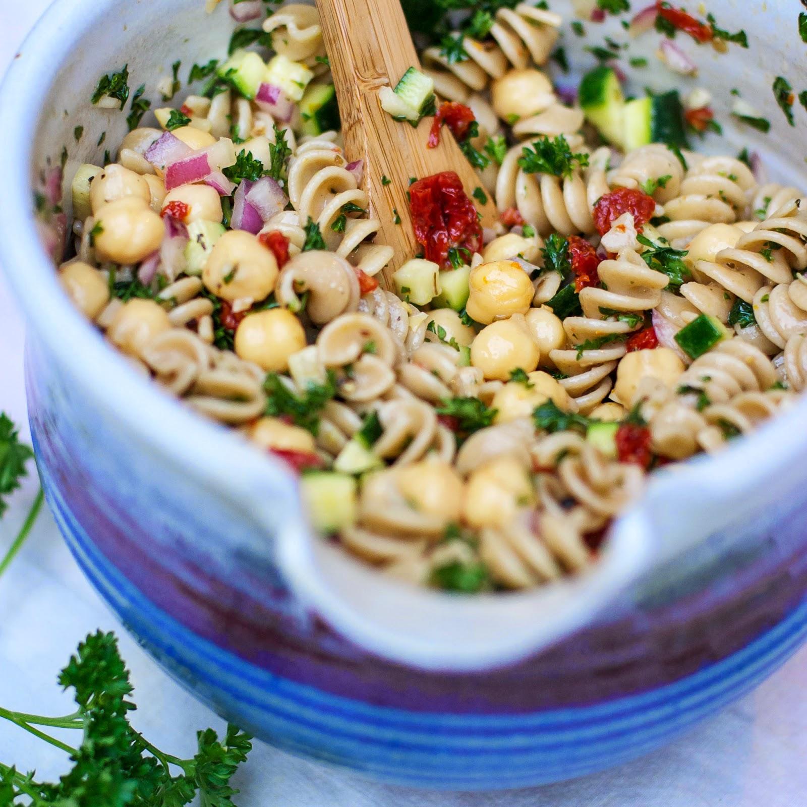 Tuscan Bean And Pasta Salad