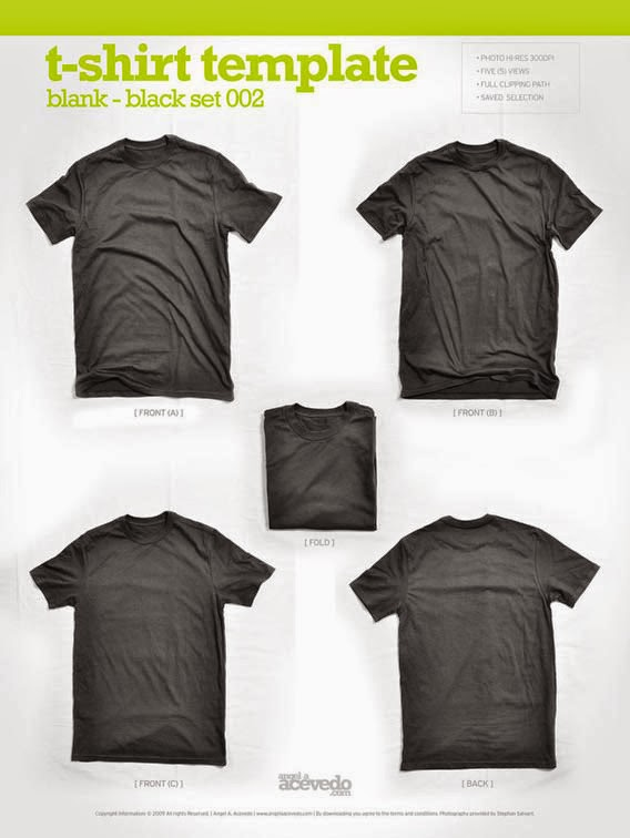 Blank T-Shirt – Black