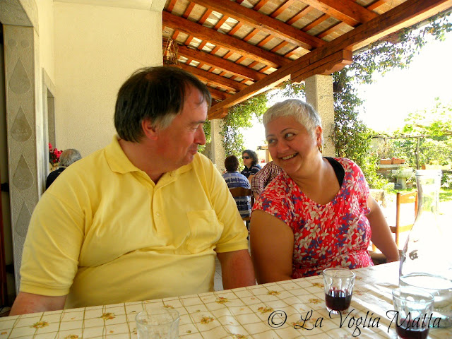 Marina e Rudi in osmiza
