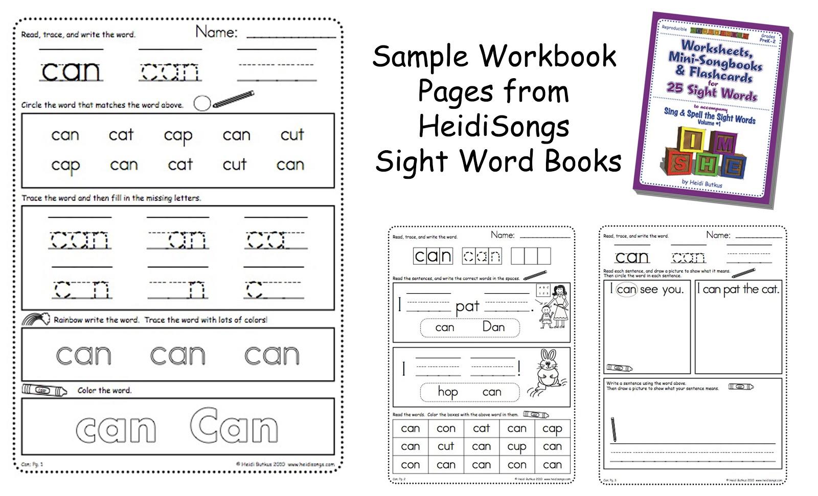 Kindergarten Math Homework Packets
