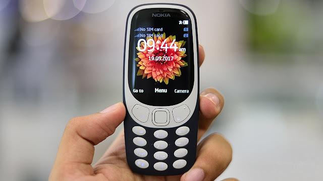 Nokia 3310 4G Resmi Meluncur dengan OS Android