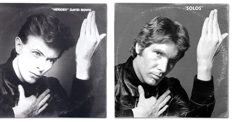Famous Classic Album Covers Mashed Up With Star Wars Characters