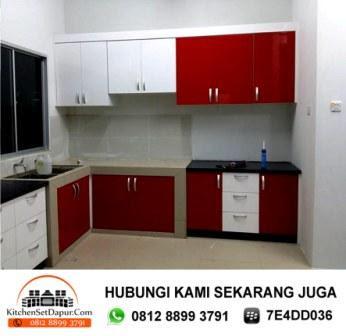 Jasa pembuatan kitchen set bogor tukang kitchen set di bogor for Tukang kitchen set