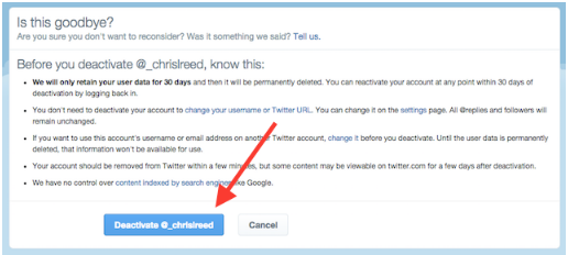 How to Delete Twitter Accounts