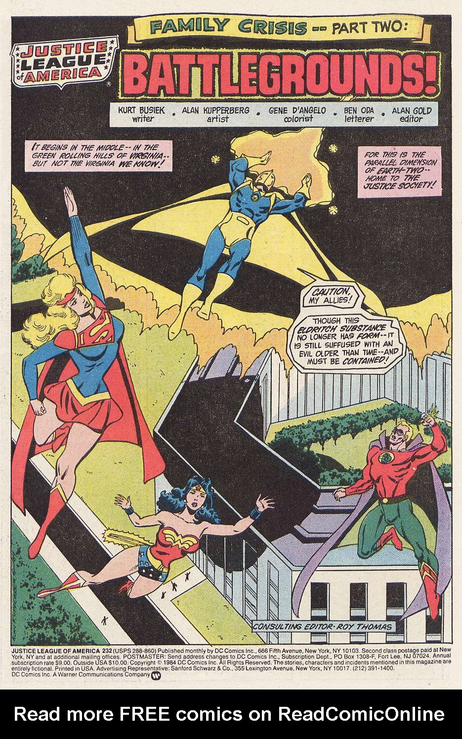 Justice League of America (1960) 232 Page 2