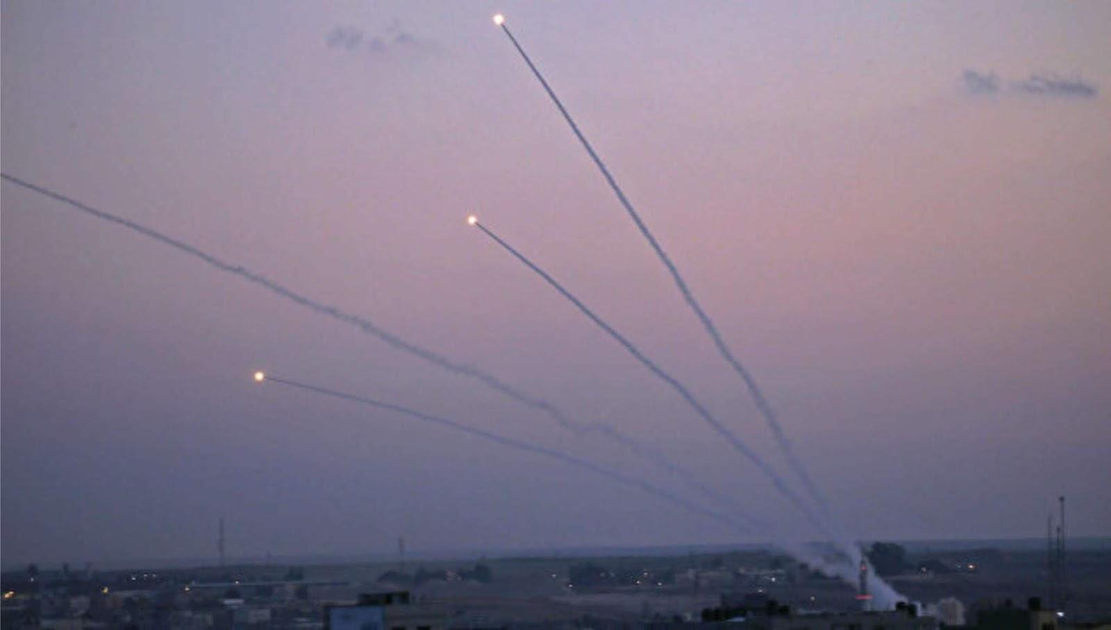 Militer Israel menemukan peluncuran 200 roket dan mortir dari Jalur Gaza