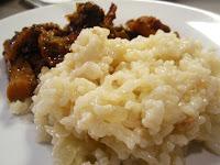 arroz pilaf para guarnición