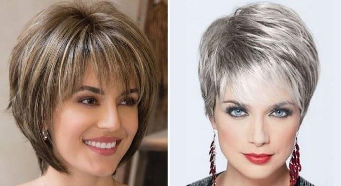 12 consejos de cortes de cabello para mujeres mayores de 40.