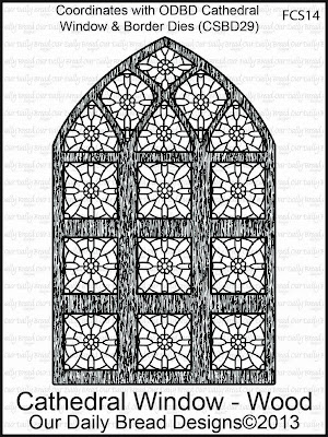 Stamps - Our Daily Bread Designs Cathedral Window - Wood