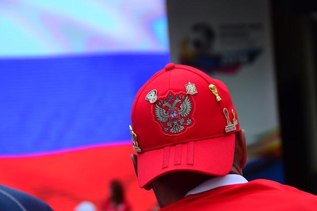 Футбольная кепка Adidas, Горный парк футбола Роза Хутор 2018, Красная поляна, Сочи