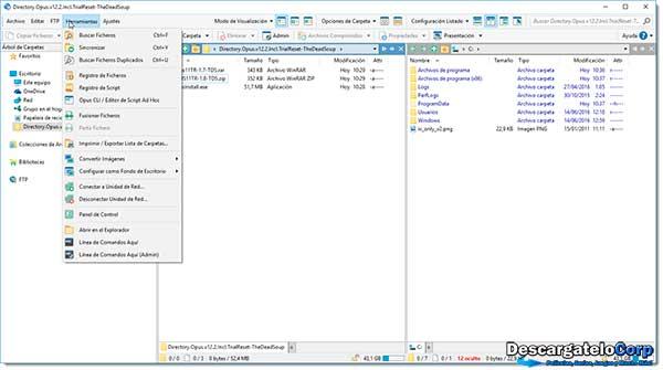 Directory Opus Español Sustituto del Explorador de Windows