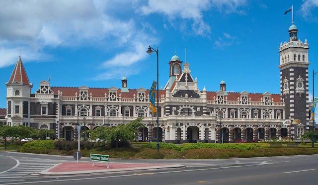 Dunedin Station, Dunedin, New Zealand