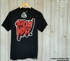 Kaos Pria Friday Killer <p>Rp125.000</p> <code>Kaos-1</code>