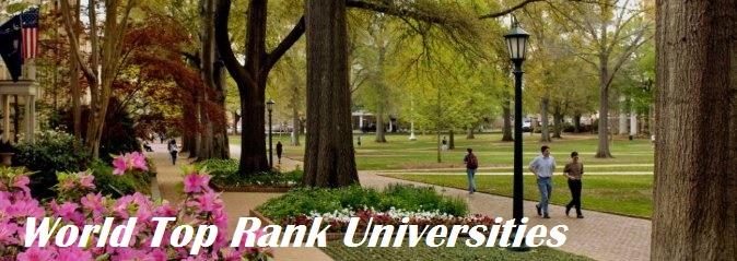 University Of South Carolina Top Rank Universities In