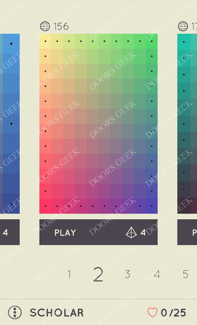 I Love Hue Scholar Level 2 Solution, Cheats, Walkthrough