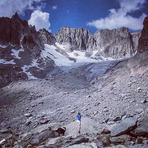 Alpen Wanderung