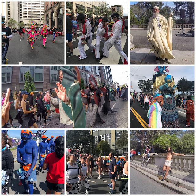Bay to Breakers collage
