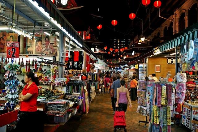 Wisata Belanja di Chinatown Singapura