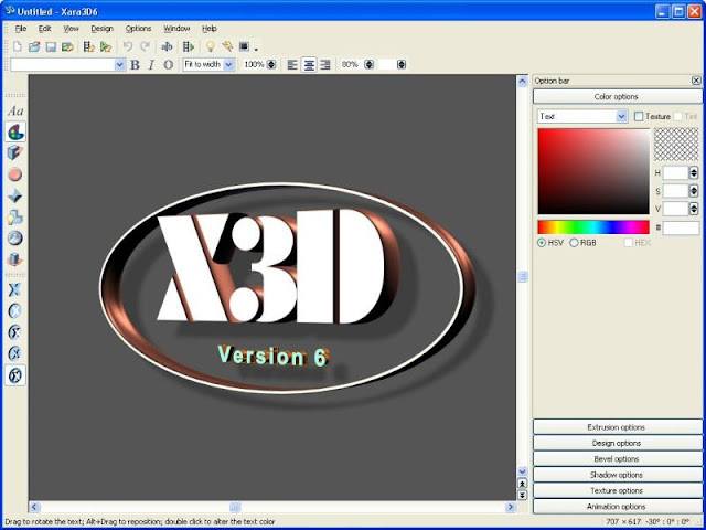 Download Xara 3D