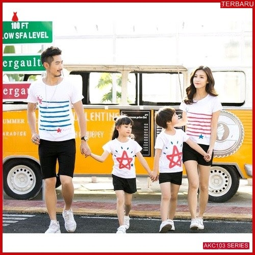 AKC103K108 Kaos Couple Baju Anak 103K108 Keluarga Family BMGShop