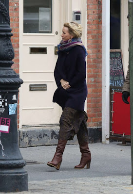 Naomi Watts on the set of 'Gypsy'