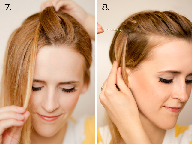 Surprising Hair And Make Up By Steph How To Twist Braid Short Hairstyles Gunalazisus