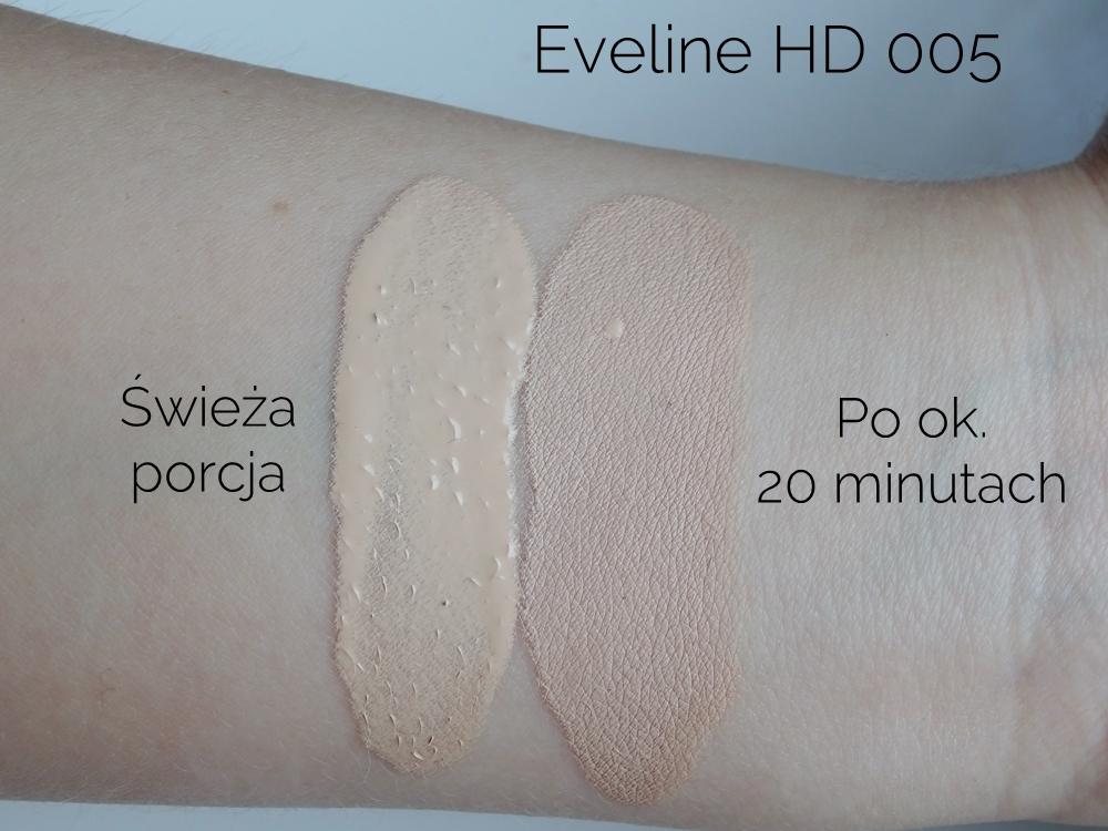 Eveline Liquid Control HD 005 czy ciemnieje