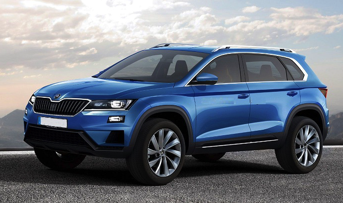2017 skoda kodiaq the czech version of our next vw tiguan review car and driver review. Black Bedroom Furniture Sets. Home Design Ideas