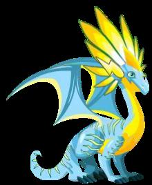 Dragón Fluorescente (Adulto)