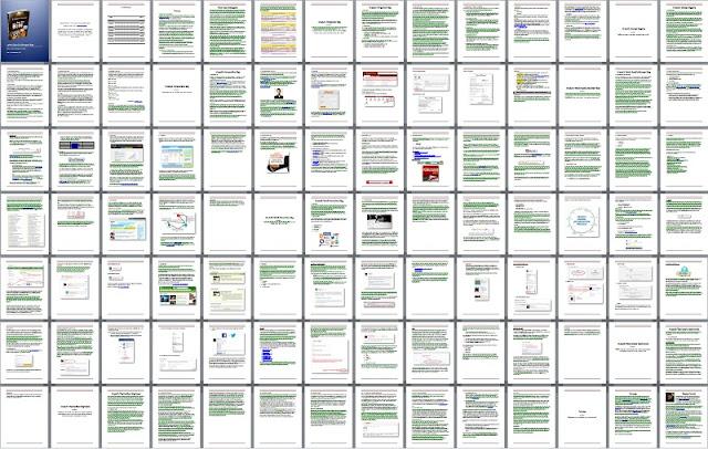 isi kandungan ebook Panduan Lengkap Buat Duit Blog