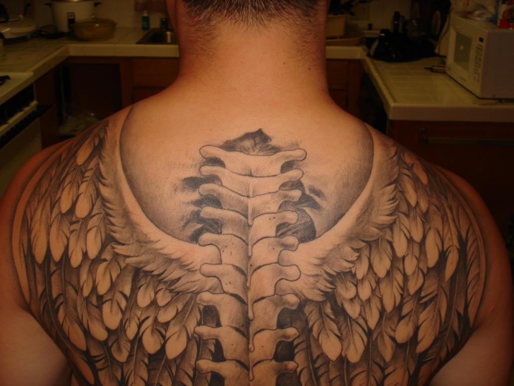 wings tattoo designs for men
