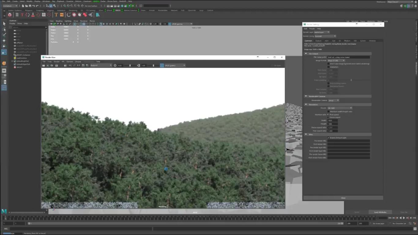 Scattering Redshift Proxies Using MASH In Maya | CG TUTORIAL