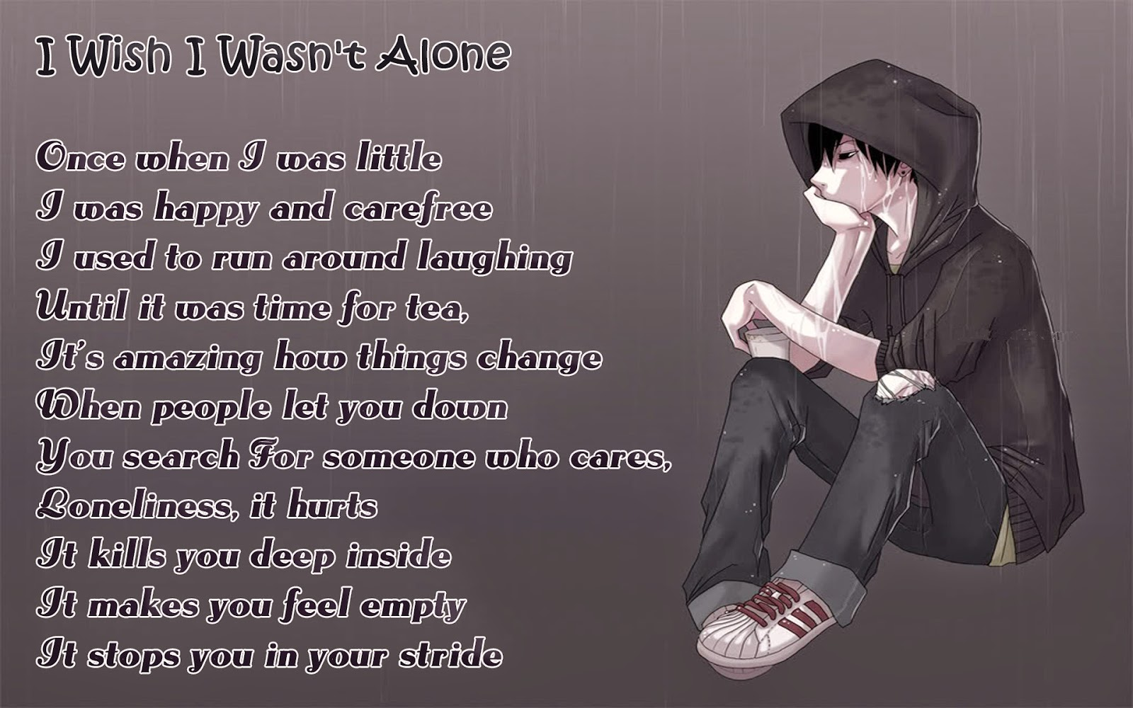 Alone Poems By Famous Poets With Images Poetry Likers