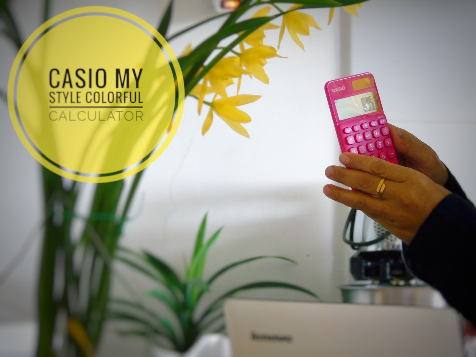 Moms Story Rina Susanti Februari 2018 Casio Colorful Calculator Sl 310uc Orange Warnai Hari Dengan My Style