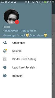 Download BBM Mod Kimochi Messenger v3.3.1.24 CLone/unclone Terbaru