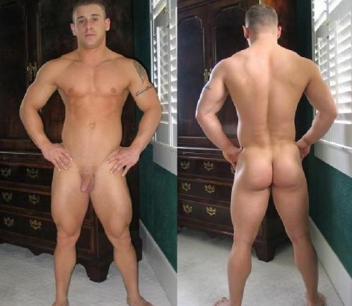 muscle guys with small penis