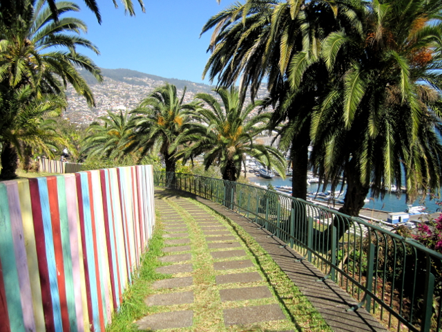 Santa Catarina park Funchal center Madeira