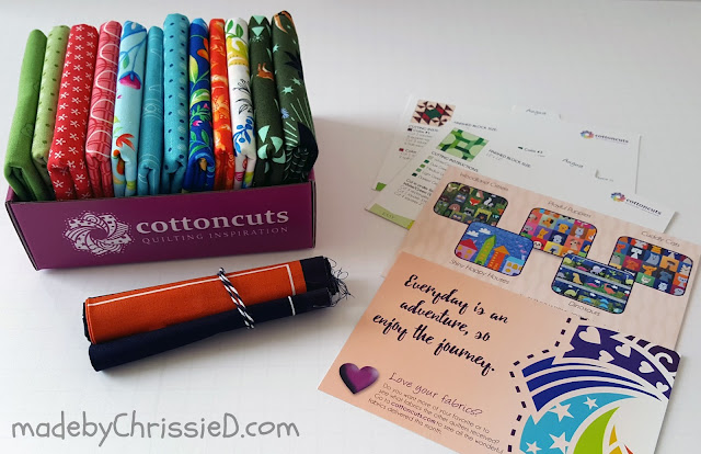CottonCuts Subscription Box by www.madebyChrissieD.com