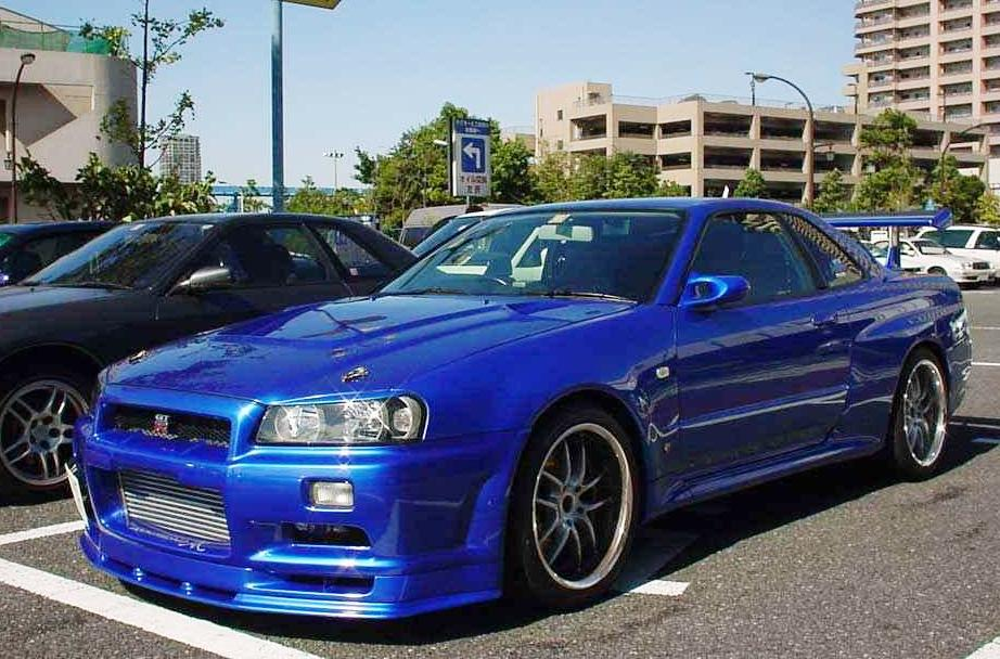Fast and furious nissan skyline gtr are absolutely