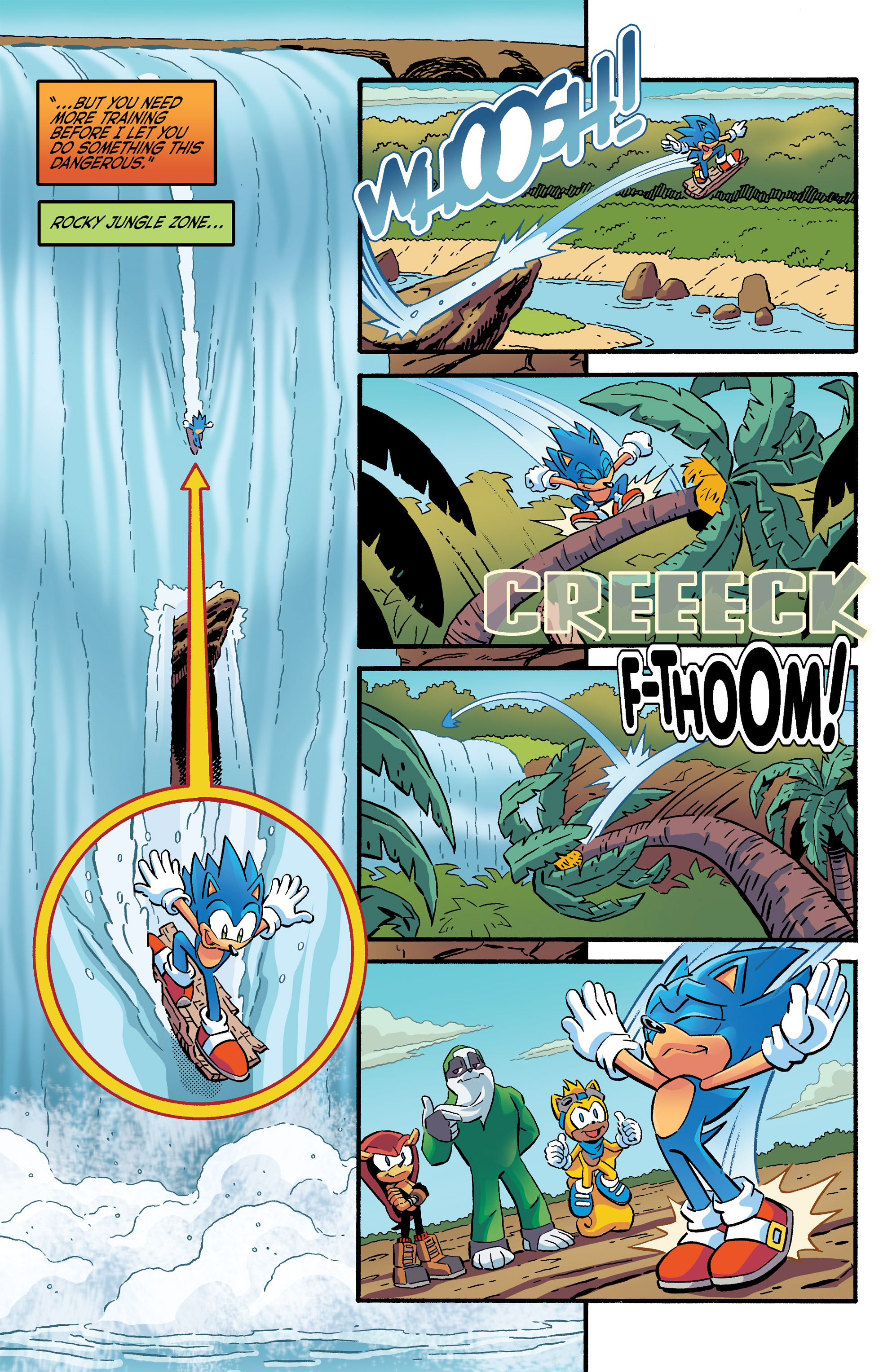 Read online Sonic The Hedgehog comic -  Issue #266 - 13