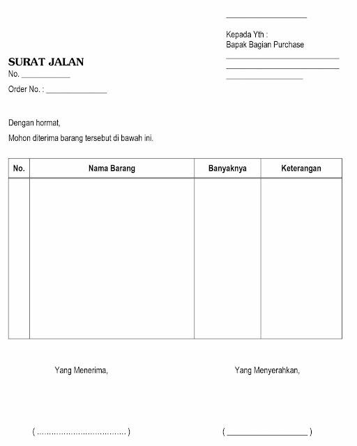 Contoh Judul Administrasi Niaga Contoh Skripsi Contoh Faktur Surat Jalan Dan Kwitansi Barang