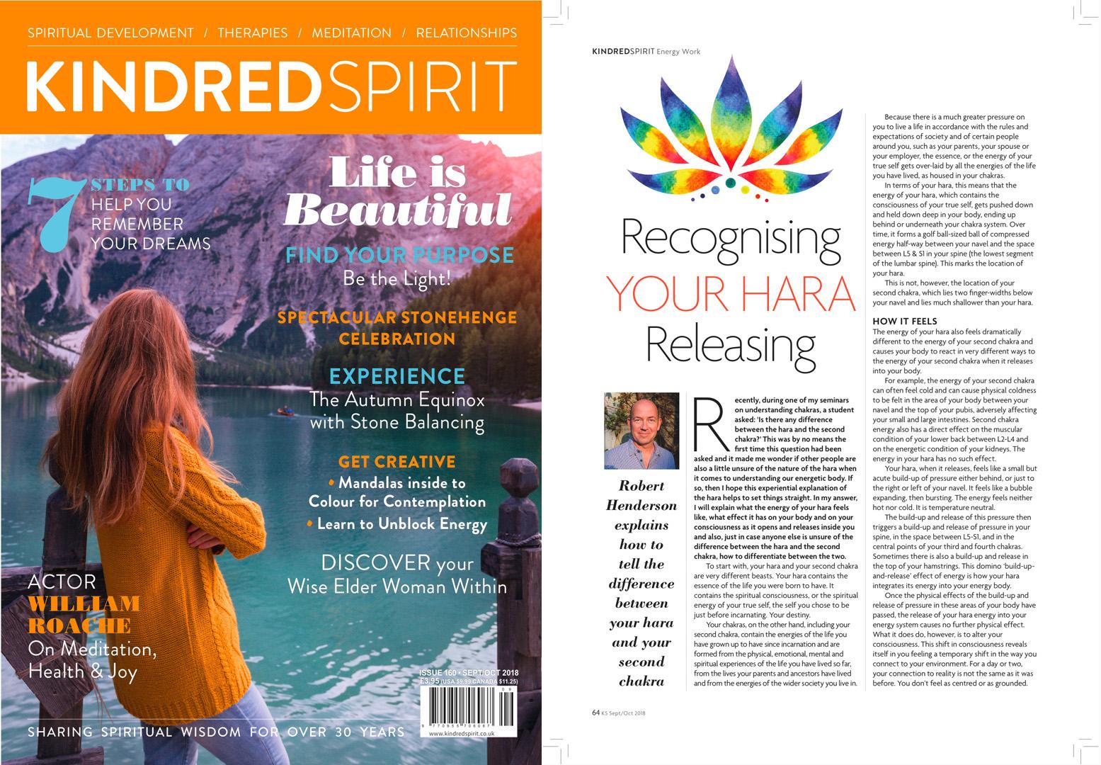 Großartig Yoga Zeitschrift Beste Wahl Kindred Spirit, September-october 2018: